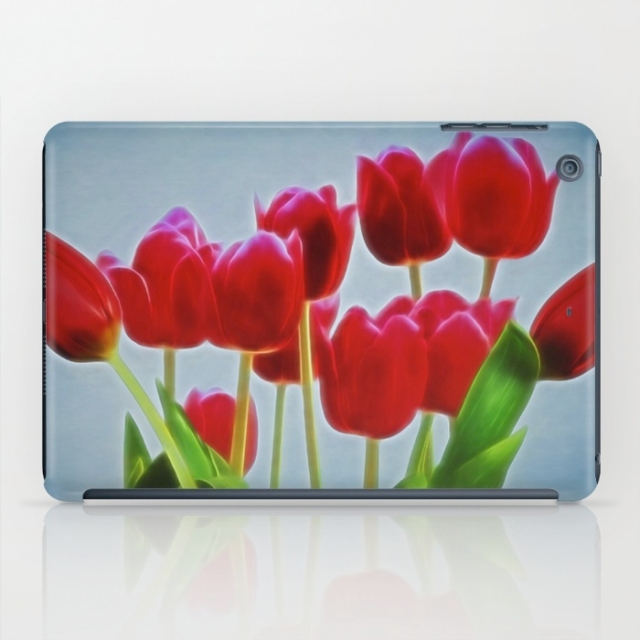 tulips iPad mini case